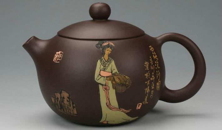 Xi Shi Teapot Premium And Treasure Yixing Zisha Pottery Handmade Zisha Clay Teapot Guaranteed 100%Genuine Original Mineral Fired