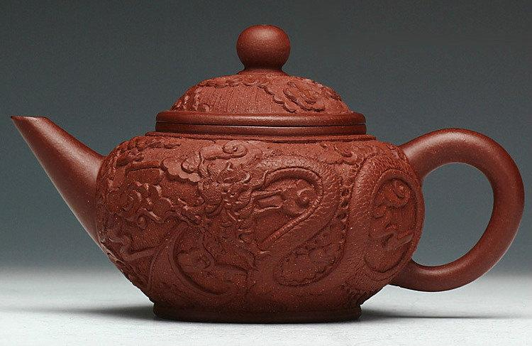 Dragon Teapot Chinese Gongfu Teapot Yixing Pottery Handmade Zisha Teapot Guaranteed 100%Genuine Original Mineral Fired