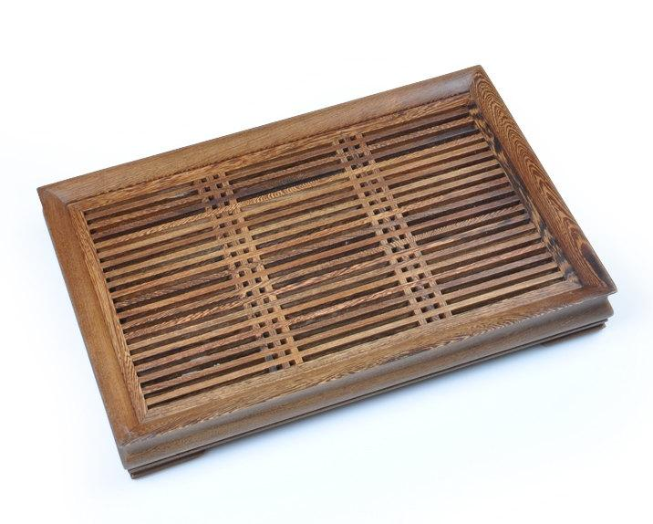 Wenge Wood Tea Tray Displaying And Serveing Tea Tea Tray Handicraft Chinese Kung-Fu Tea Set Chinese Teaism Practice.