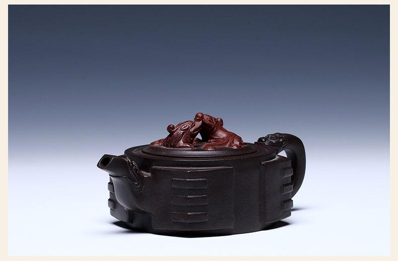 Shi Fang Teapot Premium And Treasure Yixing Zisha Pottery Handmade Zisha Clay Teapot Guaranteed 100%Genuine Original Mineral