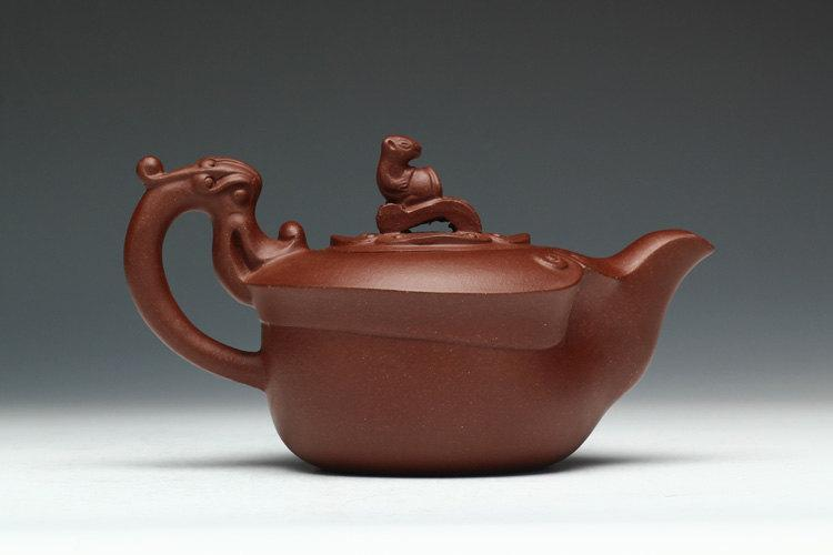Long Teapot Yixing Pottery Handmade Zisha Clay Teapot Guaranteed 100%Genuine Original Mineral Fired