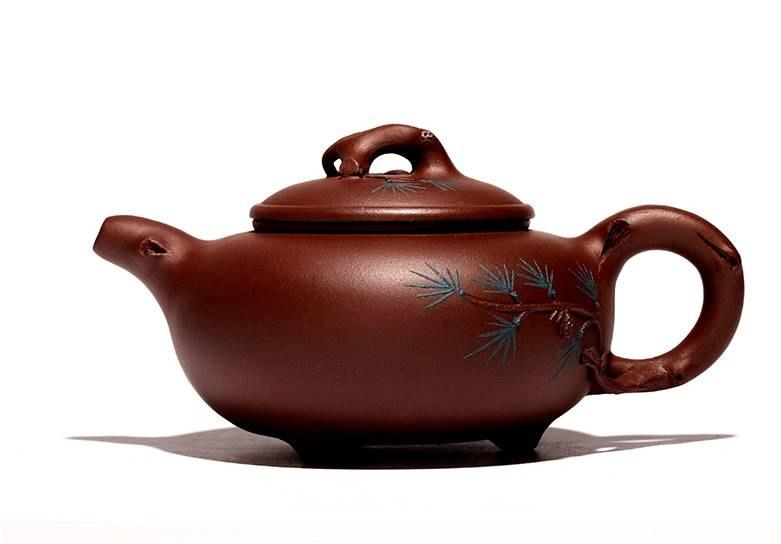 Song Zhen Teapot Chinese Gongfu Teapot Yixing Purple Pottery Teapot Handmade Teapot Guaranteed 100%Genuine Original Mineral Fire