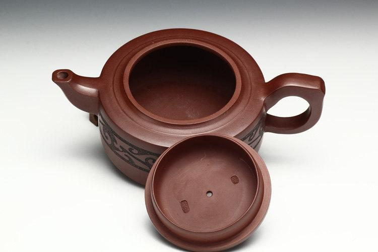 Special Selection:Big Zisha Clay Teapot Pan Long Teapot Yixing Zisha Pottery Handmade Teapot Original Mineral Fired
